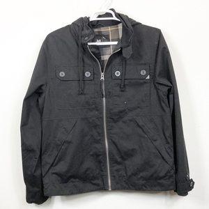 Lost Black Lined Field Jacket XL